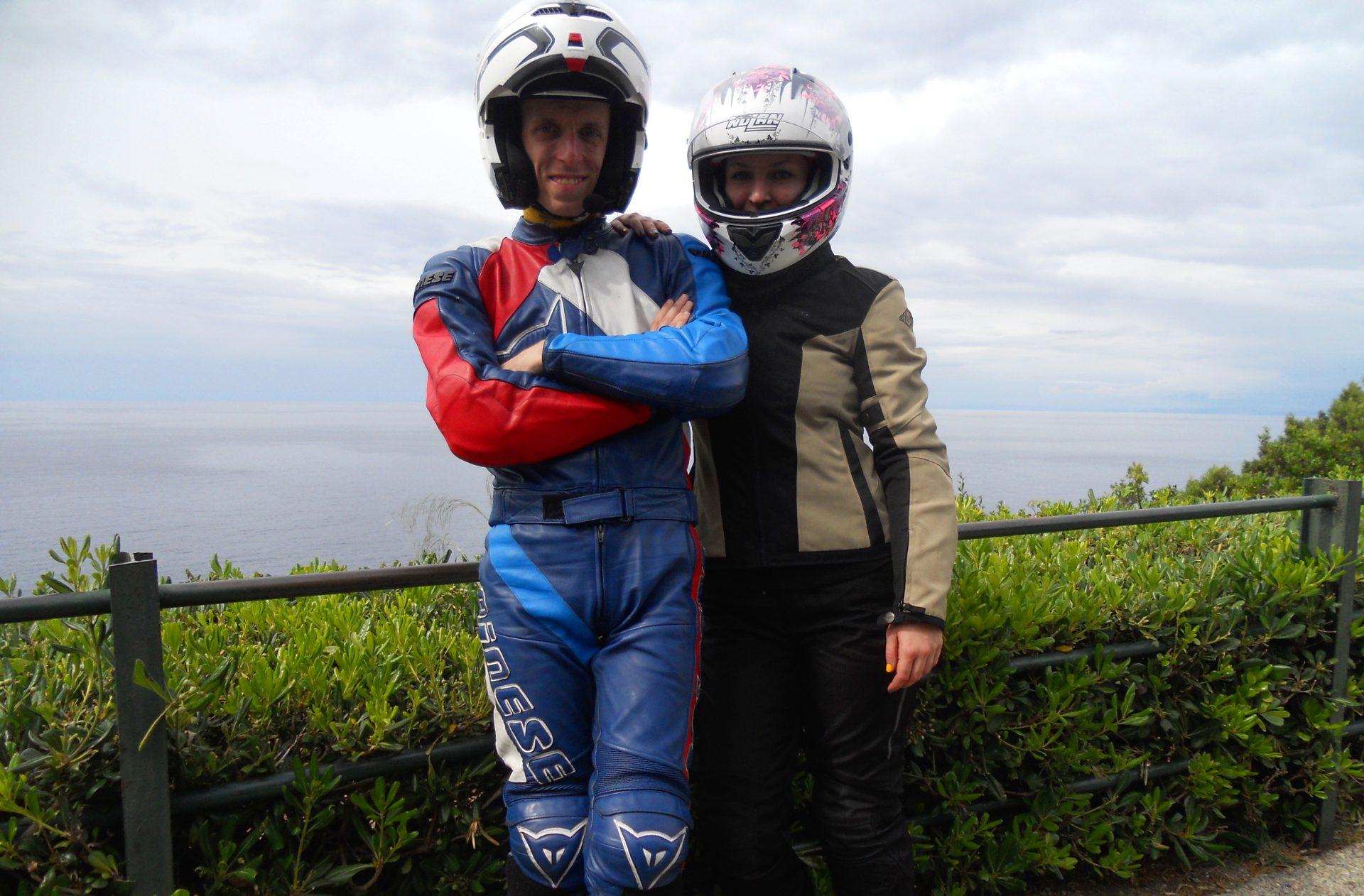 Il primo viaggio in moto