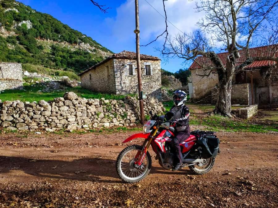170 chilometri in off e offroad in Peloponneso