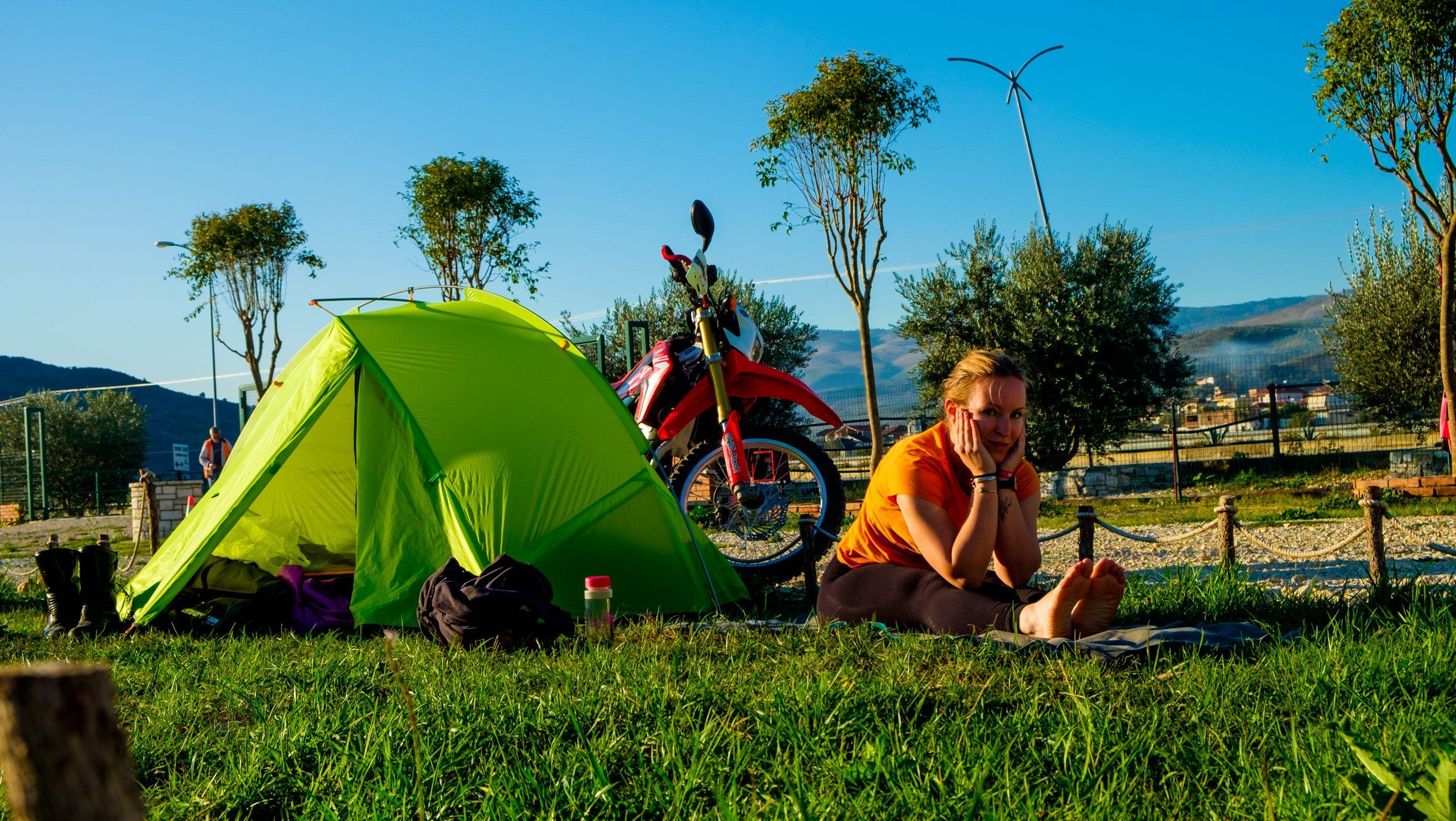 tenda da moto