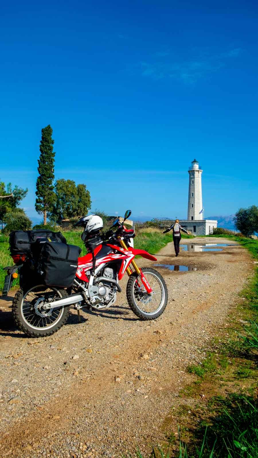 10 luoghi da vedere in Grecia in moto