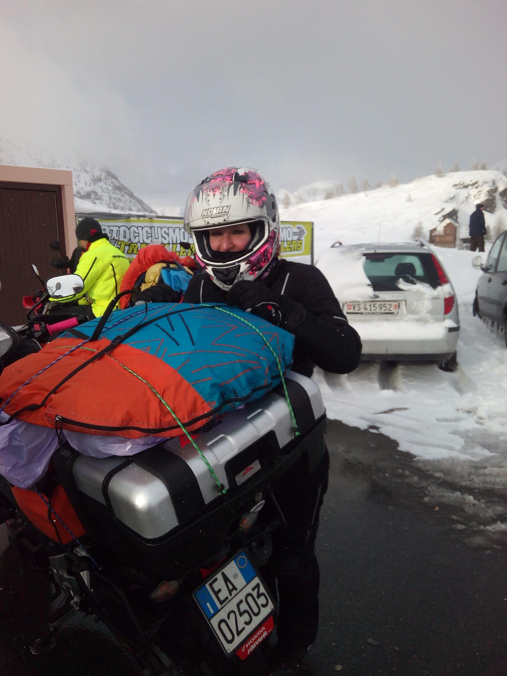 cosa indossare per andare in moto d'inverno